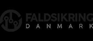 Faldsikring Danmark logo sort